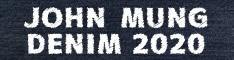 JOHN MUNG DENIM2020